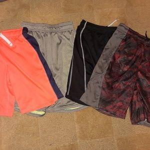Boys 4 Pair Bundle Basketball Shorts